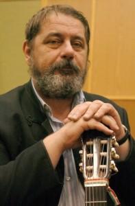 Szeged Magyar Rádió Dinnyés József énekes.Fotó: Karnok Csaba
